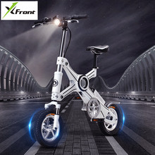 New 2017 brand Aluminum-magnesium alloy 36v 250W intelligent Electric bicycle X3 Mini Bike Portable Lithium Battery smart E-bike(China)