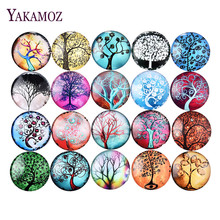 Wholesale Fashion 10 Pcs Mixed Round Glass Dome Cabochon 25mm DIY Jewelry Accessories Craft  Harvesting For Jewelry 2017