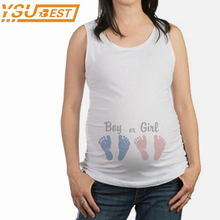 Buy Maternity T-Shirts 2018 Summer Womens Sleeveless Top Tee Soft Cotton Maternity Clothes Funny Pregnant T Shirt Tee Tops Plus Size for $5.98 in AliExpress store