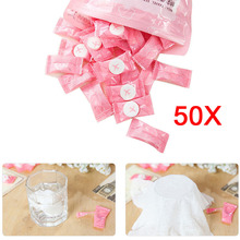 New 50pcs Disposable Towel Magic Compressed Towel for Travel Compact Papper DIY Facial Tissue  E2shopping