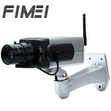 Fimei Battery Powered Practical Economic Dummy CCTV Security Camera with Activation Light IP Camera Baby Home Camera(China)