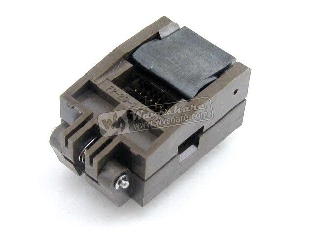 module SOP20 SO20 SOIC20 FP-20-1.27-06 Enplas IC Test Burn-In Socket Programming Adapter 5.3mm Width 1.27mm Pitch<br>