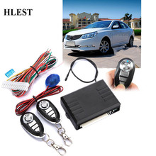 Universal Car Auto Door Lock Locking Vehicle Keyless Entry System With Remote Controllers Car Remote Central Kit alarm System(China)