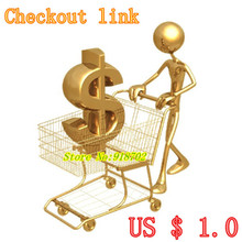 compensation price difference or the freight  Checkout link  US $ 1.0/pcs