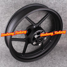 Motorcycle Front Wheel Rims For Kawasaki NINJA ZX10R ZX-10R 2004 2005 & 2006-2012 ER-6N Matte Black(China)