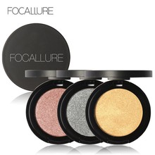 Focallure Cheap Shimmer Glitter Eyes Eyeshadow Powder Pigment Waterproof Matte Purple Golden Silver Color Eye Shadow Makeup Kit(China)