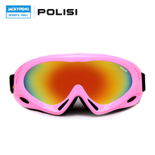 POLISI UV400 Protection Children Kids Ski Goggles Anti-Fog Snow Glasses Boys Girls Snowboard Skiing Esqui Protective Eyewear