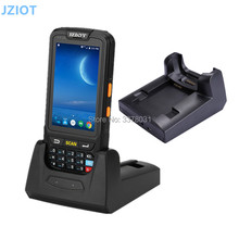 JZIOT Portable Android PDA 1D 2D Mobile Data Collector Terminal With Charger 4'' Screen 16G ROM/Wifi/BluetoothNFC Reader(China)
