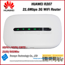 Free Shipping New Original Unlock HSPA+ 21.6Mbps Vodafone R207 Portable 3G WiFi Router With Sim Card Slot