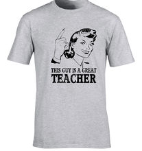 Teacher T-Shirt Gift Idea Unique Design Job T-Shirt Funny Tutor T-Shirt Maths Print Casual T Shirt Men Brand Print T Shirts Men(China)