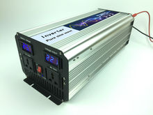 Grid off Inverter 2.5KW Pure sine wave Inverter 5KW Surge Power DC12V/24V/48V to AC220V/230V/240V,50/60HZ Solar Converter