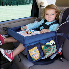 Waterproof table Car Seat Tray Storage Kids Toys Infant Stroller Holder for Children 4 Colors wholesale !!(China)