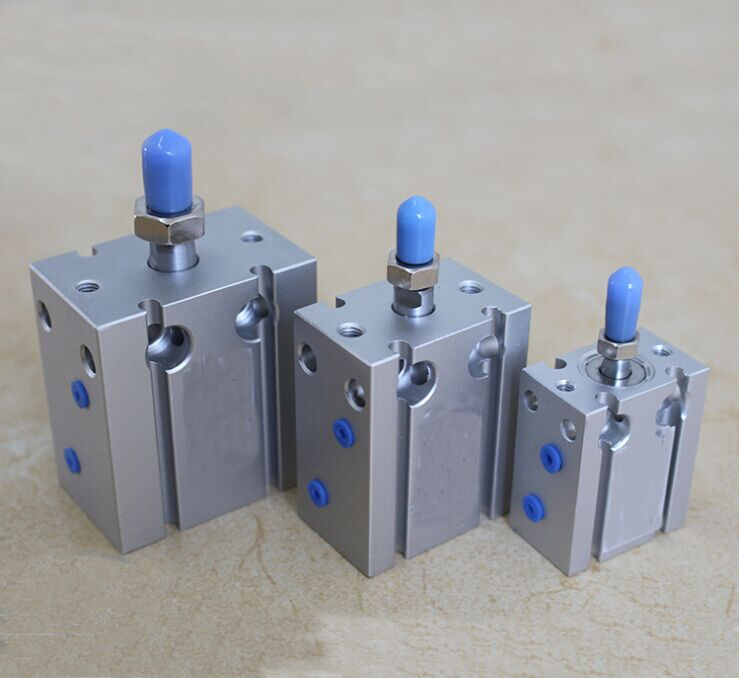 bore 25mm x 50mm stroke Multi-position Free Mounting single acting CDU type Air Cylinders mini cylinder with magnet<br>