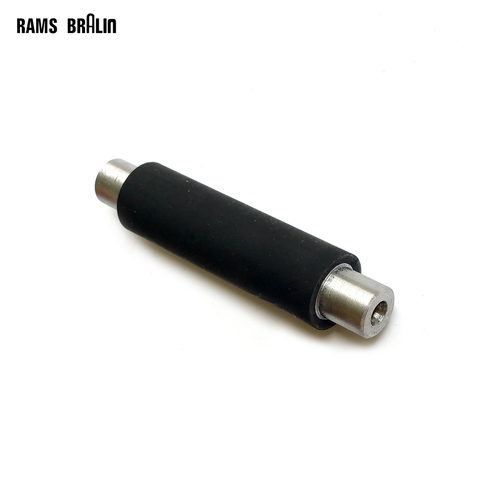1 piece 3/4*2 1/2*1/2*3 1/2 Rubber Roller with Shaft Grinder Contact Wheel<br>