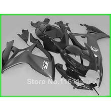 Fairing kit for SUZUKI Injection mold GSXR 600 750 K6 K7 2006 2007 all black aftermarket set GSXR600 GSXR750 06 07 fairings A639(China)