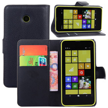 Luxury Wallet Style PU Leather Case for Nokia Microsoft Lumia 630 with Card Holders Smart Stand Soft Cover case for Lumia 630