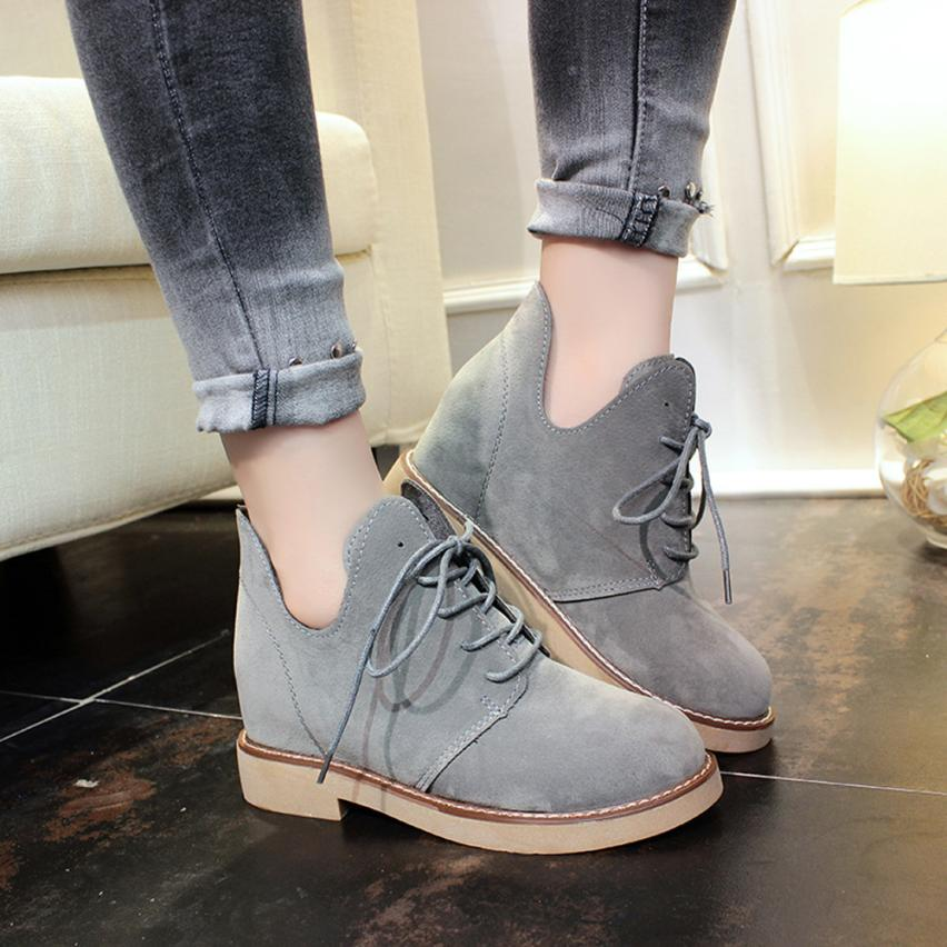 Martin Boots Female British Style Fashional Casual Flat Heel Women Boots Fashion Shoes Best Gift Drop Shipping Wholesale Dec29<br><br>Aliexpress