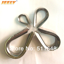 Free Shipping Europe 304 Stainless Steel Wire Winch Rope Thimble M10/10MM marine/boat hardware