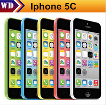 "iPhone 5c  Unlocked Original Apple iphone 5C Cell Phone 4"" Retina 1GB RAM 16GB ROM 8MP Camera 1080P WCDMA"