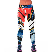 Hot Women Sport Pants Gym Fitness Legging Leggins American Football Ravens Printed Workout pantalones deportivos Uniform Clothes(China)