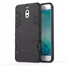 Soft TPU Back Hard Hybrid Rugged Armor Cases for Meizu M6 Note Case Plastic Luxury Cover for Meizu M6 Note Coque Fundas P30(China)