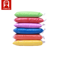 5*100g Air Drying Plastic clay Plasticine Super Light Clay Polymer Educational Soft Playdough Kids Toys Random Color