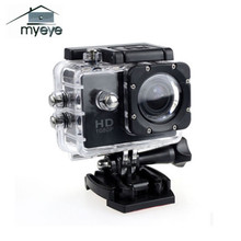 Myeye 2017 Sports Action Camera 1080P HD Waterproof 120 Wide Angle 7 Colors Mini Camera For Outdoor Sport Activities Cameras(China)