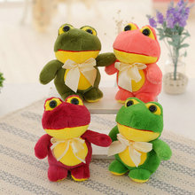 20cm Wholesale Wedding gift plush toys Lovely small Frogs Plush Doll Frog Cloth Doll Children's Gift