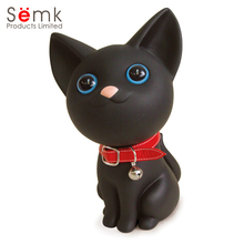 21cm Cat Anime Figure Cute Money Box PVC Vinyl Action Figure Cute Kawaii Cat Doll Home Decor Children Gift Semk Cat Toys(China)