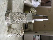Palace carved frosted glass spray perfume bottle refillable My bottle