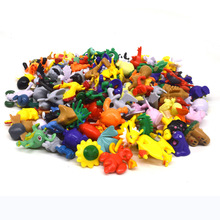 48Pcs/bag Littlest Animal Tiny Figures Inside Anime Action Figures Kids toys Gif 48 different style Toy bag(China)