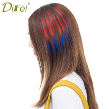 Buy DIFEI Straight d One Piece 2 clips Clip Hair Extensions Long Poplar Style Girl Lady Women for $3.50 in AliExpress store