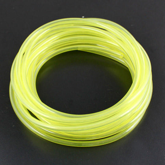 1M Universal Gas Pipes Oil Tube Yellow for Fuel Tank Methanol Gasoline RC Model Aircraft Helicopter Boat Car Plane F14383/86(China)
