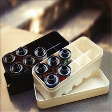 10 Roll Small Fitting Plastic White Black Home Organization Boxes Mini Film Case Portable Storage Box With Lid 35mm 135 Hard