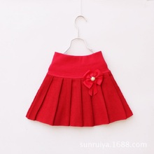 Children New Fashion Casual Girls Skirts For Autumn&summer High Waist Tutu Skirt Have A Lining Baby Girls Clothing