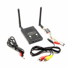 FPV Boscam 5.8G 600mW Wireless RC Audio Video Transmitter TS5828 and Receiver RC832 plus for DJI Phantom Gopro SJCAM SJ7000