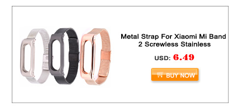 Original Ollivan Strap For Xiaomi Mi Band 2 Metal Leather Belt Bracelet For MiBand 2 Wristband Replace Accessories For Mi Band 2
