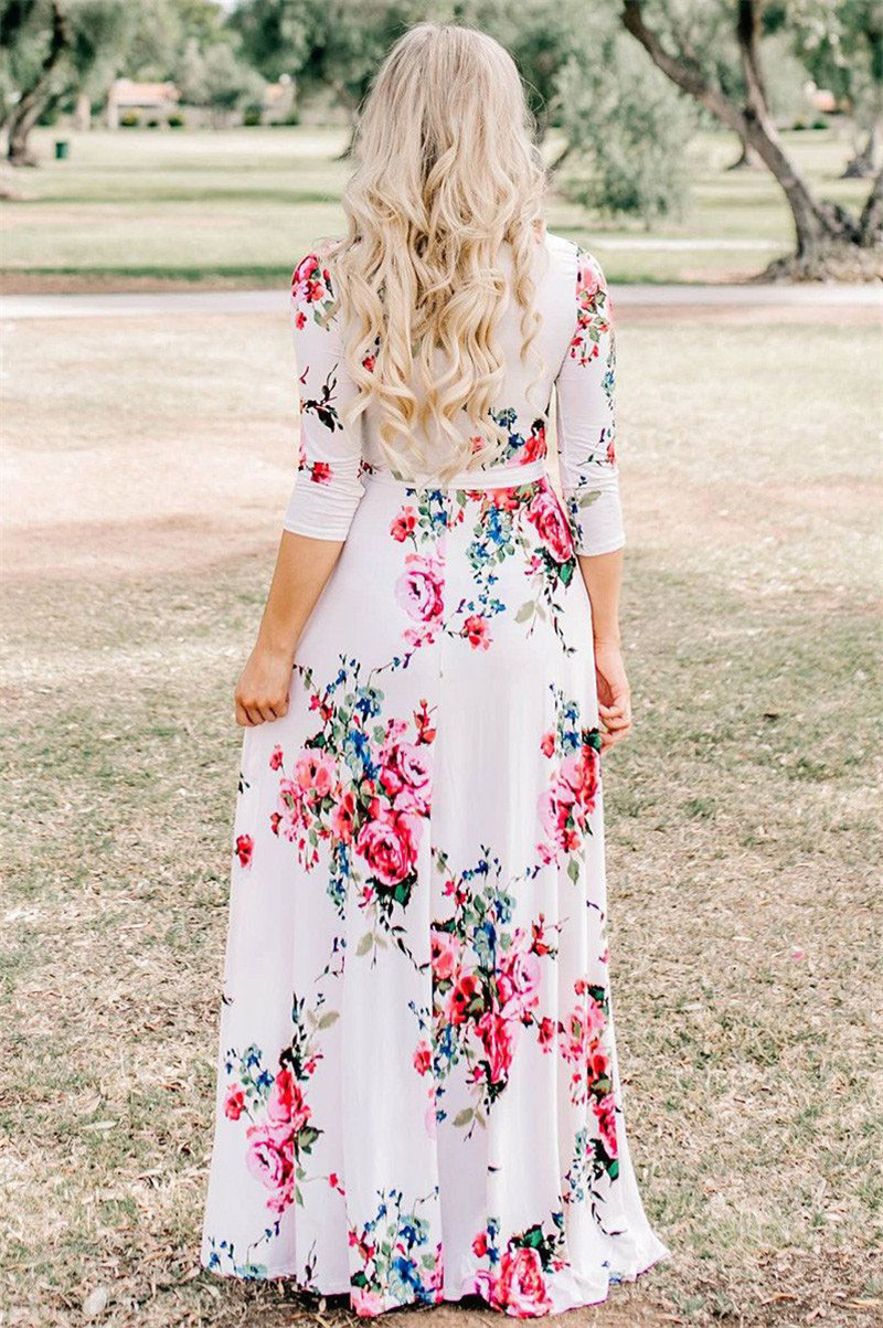 white-blooming-flower-print-wrap-v-neck-boho-dress (5)