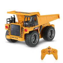 Buy educational TOYS 1:12 Engineering Vehicle toy 1540 2.4G 6CH 40HMZ RC Metal Dump Truck Remote Control Toys RTR rc truck Toy gifts for $80.00 in AliExpress store