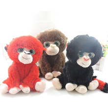 20CM Long Tail Big Eyes Monkey Plush Toys Stuffed Animals Ape Gorilla Soft Toy Dolls Kids Gift Boys Children Presents