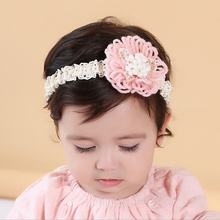 New Cute Baby Kids Headband Wool Flower Hairbands Girls Children Headwear Hair Accessories Infant Baby Clothing