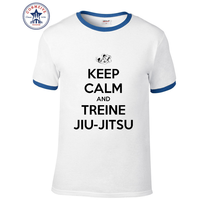 2017 hot selling funny keep calm and treine jiu jitsu cotton htb1sao8sxxxxxc5xpxxq6xxfxxxwg fandeluxe Images