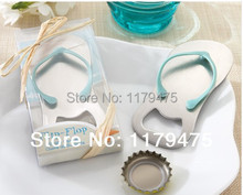 Lot 8 New Slipper Beer Bottle Opener With Gift Box Wedding Favor Game Prize Celebration Gift