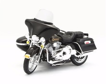 Maisto 1:18 1998 FLHT Electra Glide Standard Sidecar Diecast Motorcycle Model Toy New in Box