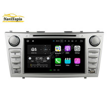 NaviTopia 8Inch 2G+16G Android 7.1 Car DVD GPS for Toyota Camry 2007-2011 Auto Car PC Bluetooth Wifi Radio Stereo Navigation(China)