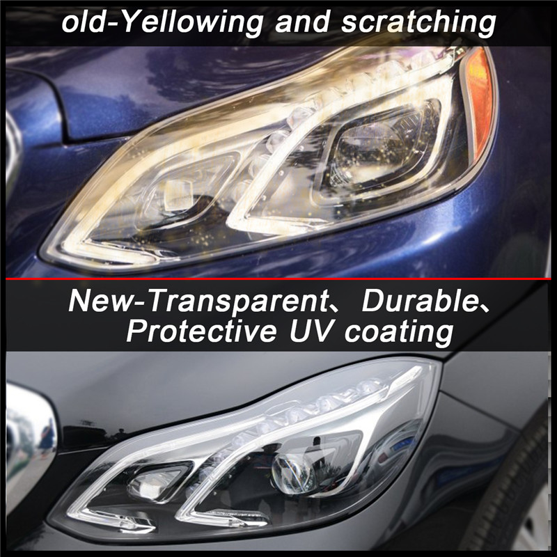 Headlamp lenses Cover W212 (2)