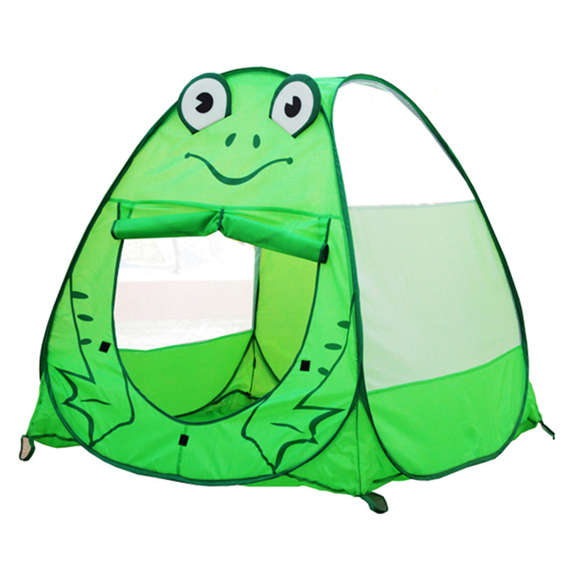 Cartoon Frog Kids Tent Play House Toy Indoor/ Outdoor Games Children Kawaii Tent Waterproof House Christmas gift <br><br>Aliexpress