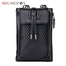 Ladies Phone bags Mini Leather Messenger Bag for Women Crossbody Bag Discount Designer Handbags MIUMOFOX HCL08