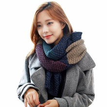 Lisli Winter Lovely long Cable Knit Scarf Women's fashion clothing & accessories Christmas Gift Warm Knit Scarf Men 01S0261