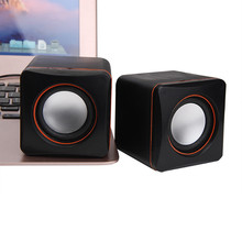 New Mini Portable USB Multimedia Computer Laptop Audio Sounder Speaker Music Stereo Loudspeaker for Laptop Mobile Phone(China)
